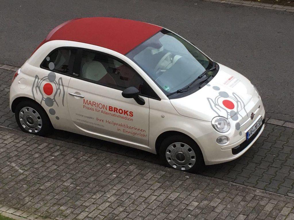 Unser kleiner Fiat 500